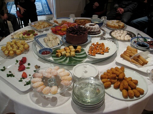 My mum's 85th birthday afternoon tea party