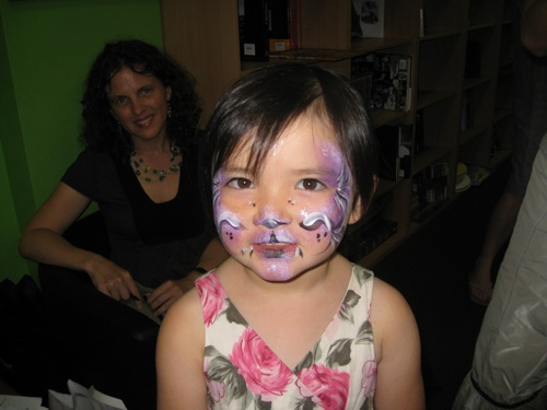 My gorgeous grand niece, Emma who The Race for the Chinese Zodiac is dedicated to.