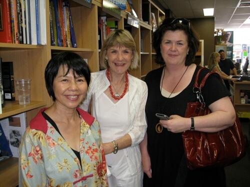 Corinne Fenton with my publisher from Black Dog Books, Maryann Ballantyne.